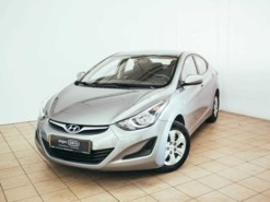 Hyundai Elantra 2014 г. (серый)