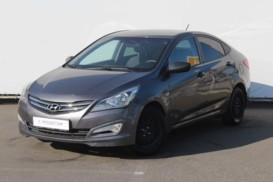 Hyundai Solaris 2015 г. (серый)