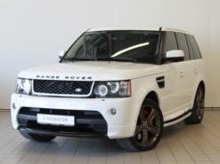 Land Rover Range Rover Sport 2012 г. (белый)