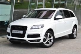 Audi Q7 2012 г. (белый)