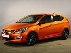 Hyundai Solaris 2015 г. (оранжевый)