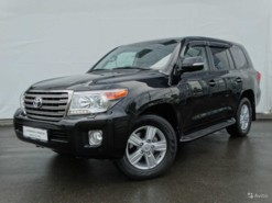 Toyota Land Cruiser 2014 г. (черный)