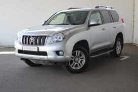 Toyota Land Cruiser Prado 2013 г. (серебряный)