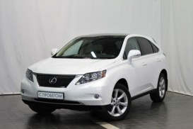 Lexus RX 2010 г. (белый)
