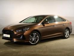 Hyundai Sonata 2017 г. (коричневый)