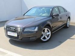 Audi A8 2012 г. (серый)