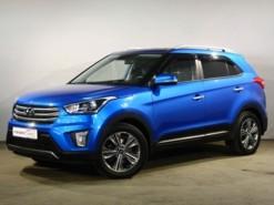 Hyundai Creta 2018 г. (синий)