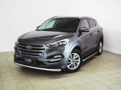 Hyundai Tucson 2017 г. (серый)