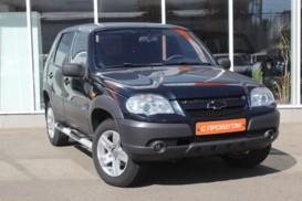 Chevrolet Niva 2009 г. (синий)