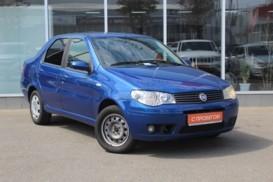 Fiat Albea 2008 г. (синий)