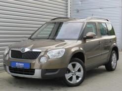 Škoda Yeti 2012 г. (коричневый)
