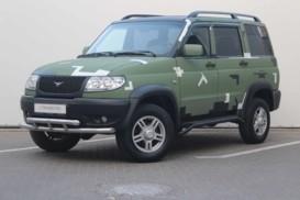 УАЗ Patriot 2012 г. (зеленый)