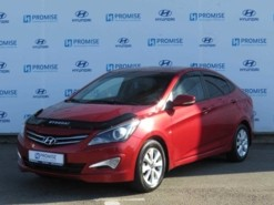 Hyundai Solaris 2016 г. (красный)