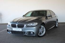 BMW 5er 2014 г. (серый)