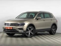 Volkswagen Tiguan 2017 г. (бежевый)