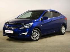 Hyundai Solaris 2014 г. (синий)
