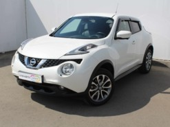 Nissan Juke 2017 г. (белый)