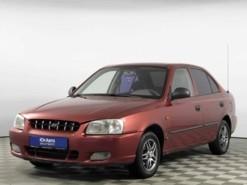 Hyundai Accent 2004 г. (красный)