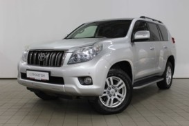 Toyota Land Cruiser Prado 2011 г. (серебряный)