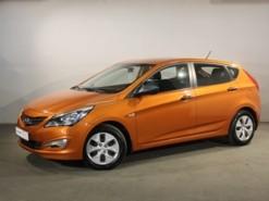 Hyundai Solaris 2014 г. (оранжевый)