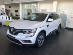 Renault Koleos 2018 г. (белый)
