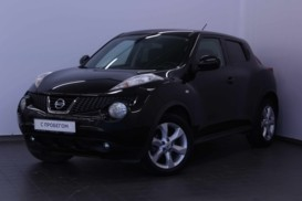 Nissan Juke 2012 г. (черный)