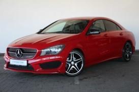 Mercedes-Benz CLA 2014 г. (красный)