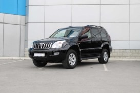 Toyota Land Cruiser Prado 2007 г. (черный)