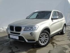 BMW X3 2014 г. (серебряный)