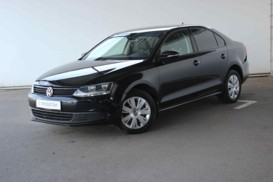 Volkswagen Jetta 2012 г. (черный)