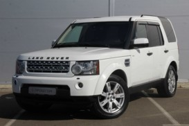 Land Rover Discovery 2011 г. (белый)