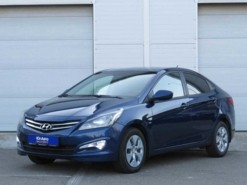 Hyundai Solaris 2016 г. (синий)