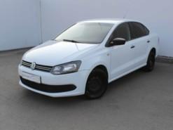 Volkswagen Polo 2014 г. (белый)