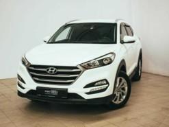 Hyundai Tucson 2018 г. (белый)