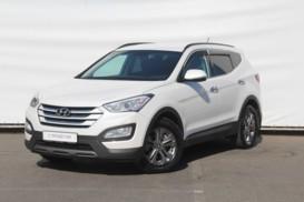 Hyundai Santa FE 2014 г. (белый)