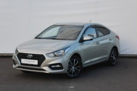 Hyundai Solaris 2018 г. (белый)