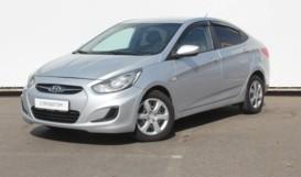 Hyundai Solaris 2013 г. (серый)