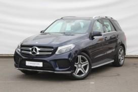 Mercedes-Benz GLE 2016 г. (синий)