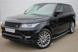 Land Rover Range Rover Sport 2013 г. (черный)