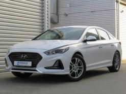 Hyundai Sonata 2017 г. (белый)