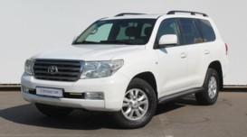Toyota Land Cruiser 2009 г. (белый)