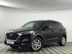 Hyundai Tucson 2018 г. (черный)