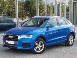Audi Q3 2016 г. (голубой)
