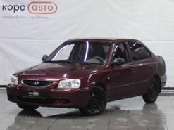 Hyundai Accent 2006 г. (красный)