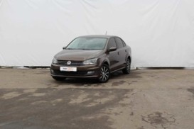 Volkswagen Polo 2016 г. (коричневый)