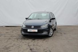 Volkswagen Polo 2016 г. (синий)