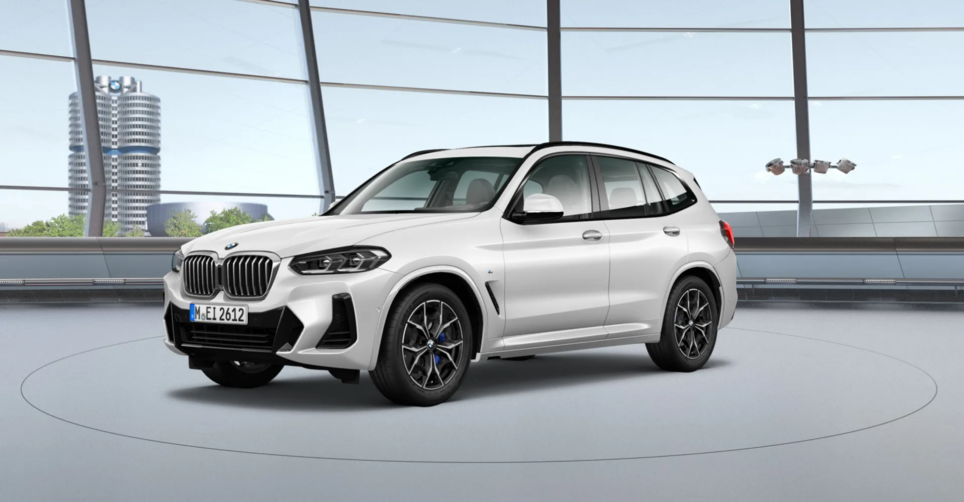 BMW X3 Внедорожник [[activeColor.Title]]
