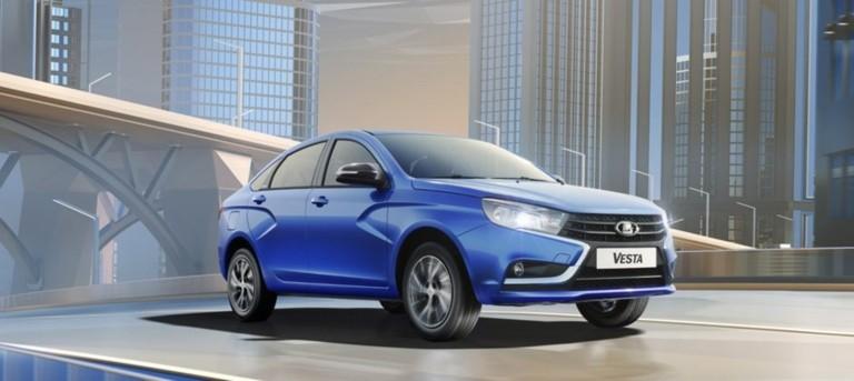 Vesta  седан в кредит 3,9% на 3 года