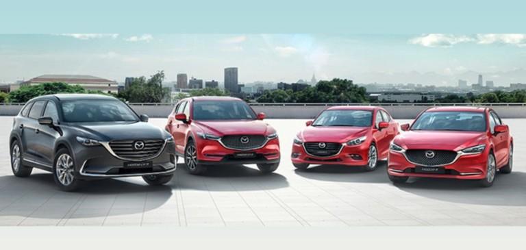 Mazda в кредит от 7 990 рублей в месяц